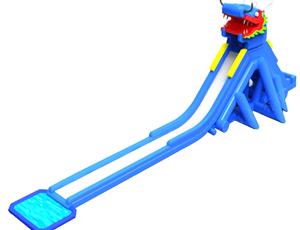 水上乐园-龙头水滑梯