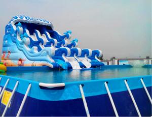 水上乐园-冲浪水滑梯